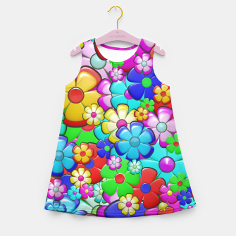 Floral Girl's summer dress thumbnail image