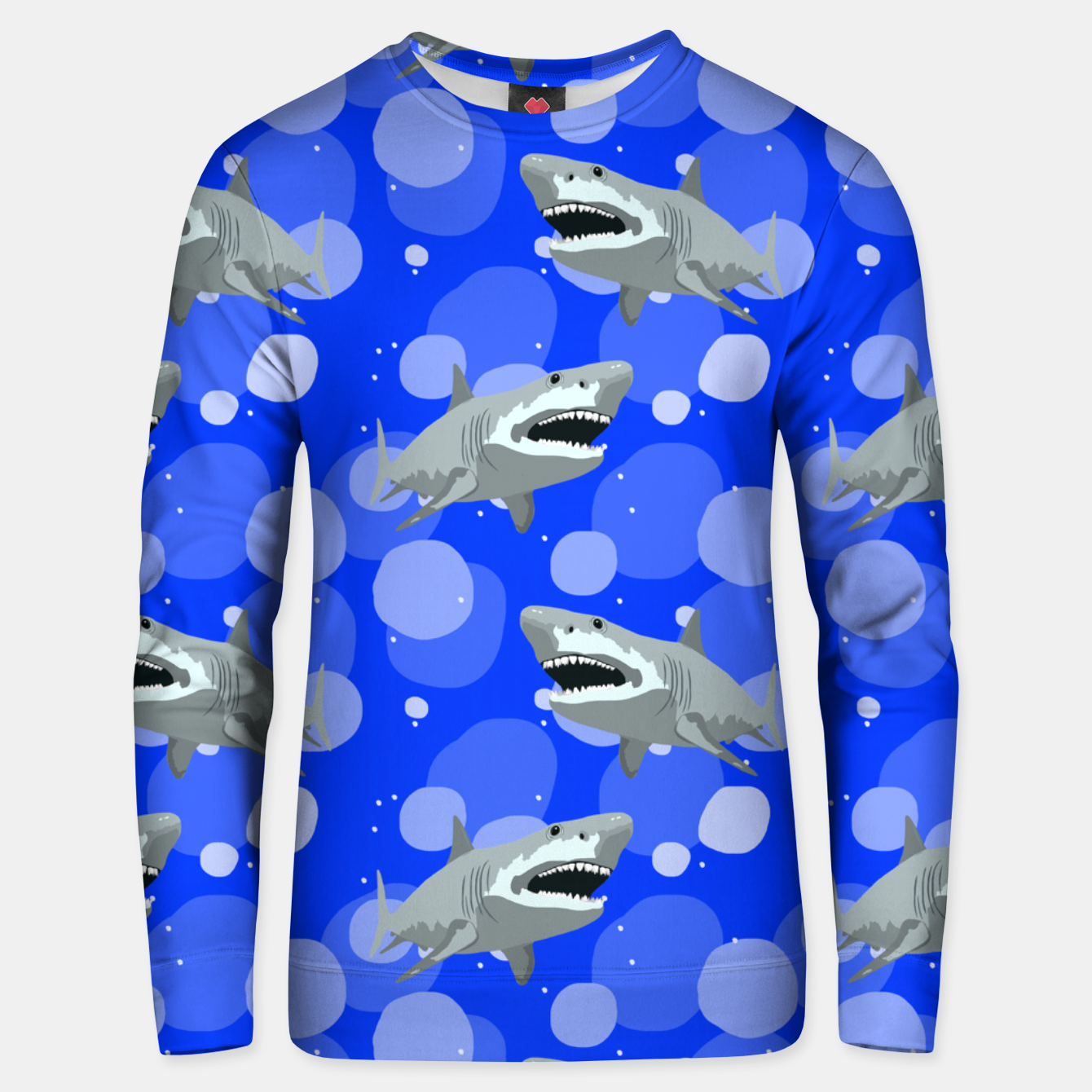 Image of Jaws Unisex sweater - Live Heroes