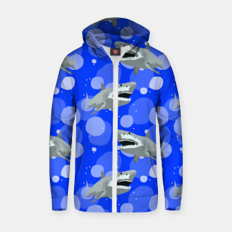 Jaws Zip up hoodie thumbnail image