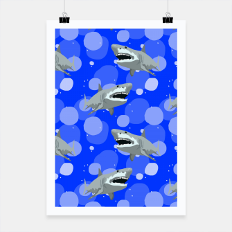 Miniatur Jaws Poster, Live Heroes