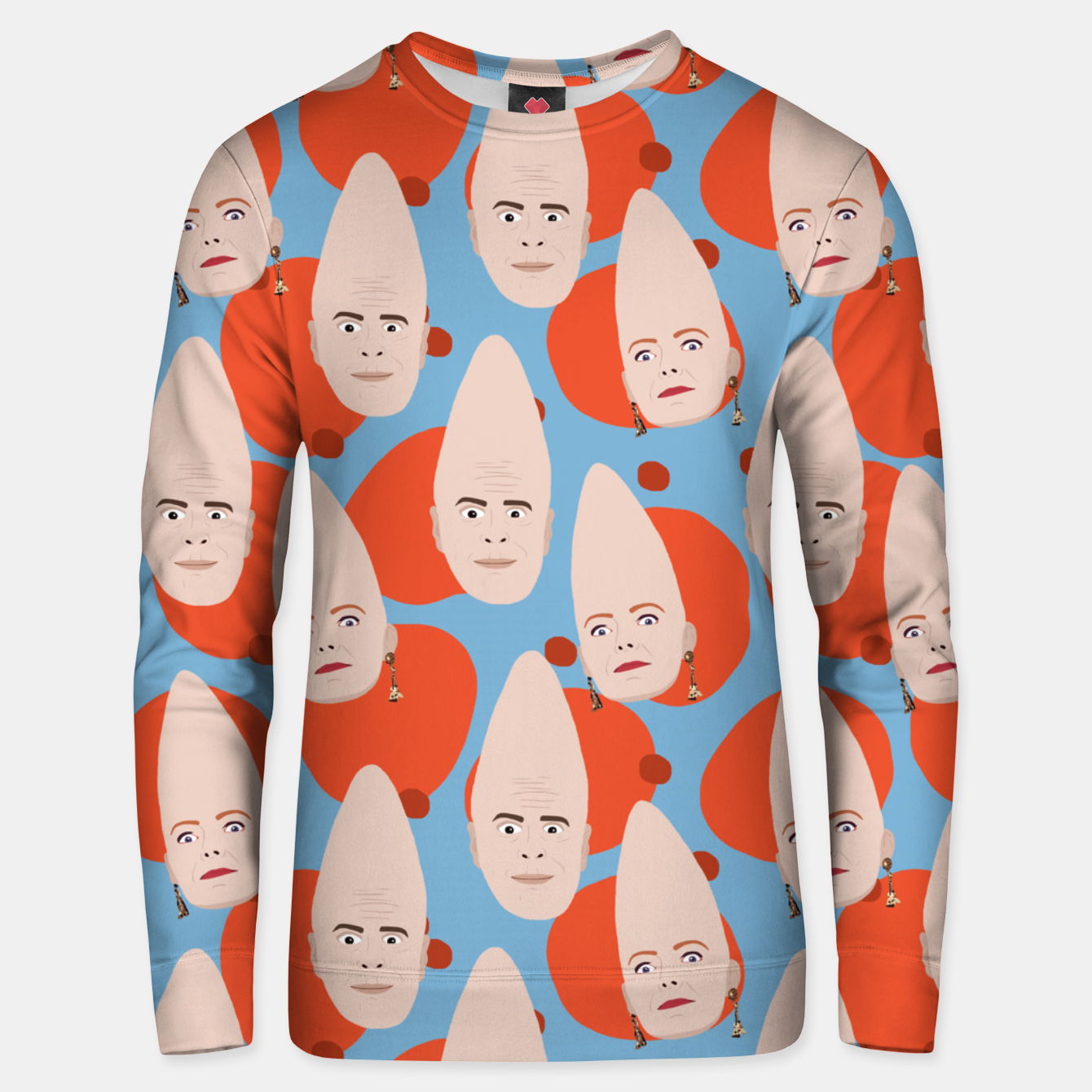 Image of Coneheads Unisex sweater - Live Heroes