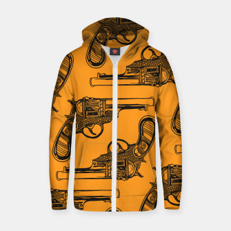 Stick to your gnus Zip up hoodie thumbnail image