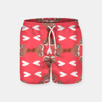 Thumbnail image of Phone Home Swim Shorts, Live Heroes