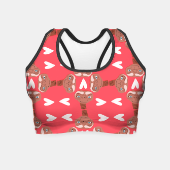 Thumbnail image of Phone Home Crop Top, Live Heroes