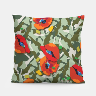 Thumbnail image of Camo Pillow, Live Heroes