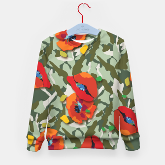 Thumbnail image of Camo Kid's sweater, Live Heroes