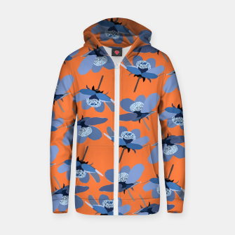 Thumbnail image of Crazy Summer Zip up hoodie, Live Heroes