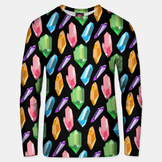 Thumbnail image of Crystals Unisex sweater, Live Heroes