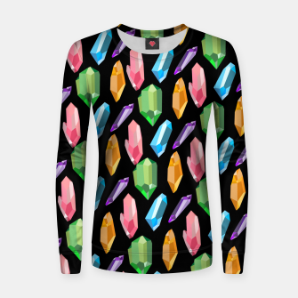 Thumbnail image of Crystals Women sweater, Live Heroes
