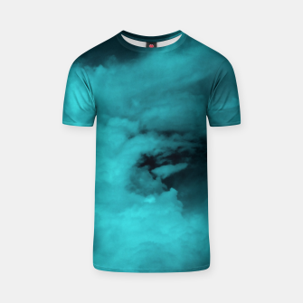 Thumbnail image of Turquoise clouds T-Shirt, Live Heroes