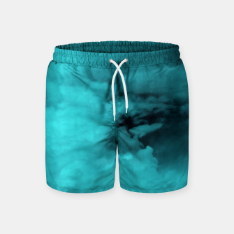 Thumbnail image of Turquoise clouds Badeshorts, Live Heroes