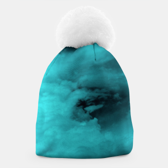 Thumbnail image of Turquoise clouds Mütze, Live Heroes