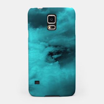 Thumbnail image of Turquoise clouds Handyhülle für Samsung, Live Heroes