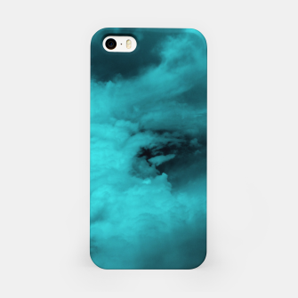 Thumbnail image of Turquoise clouds iPhone-Hülle, Live Heroes