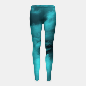 Thumbnail image of Turquoise clouds Kinder-Leggins, Live Heroes