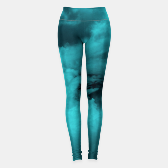 Thumbnail image of Turquoise clouds Leggings, Live Heroes
