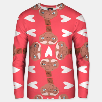 Thumbnail image of Phone Home Unisex sweater, Live Heroes