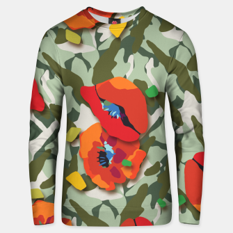 Thumbnail image of Camo Unisex sweater, Live Heroes