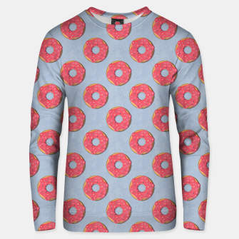 FAST FOOD / Donut - pattern Unisex sweater thumbnail image