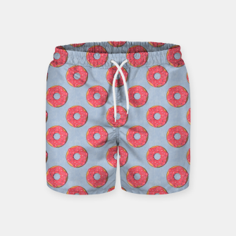 Thumbnail image of FAST FOOD / Donut - pattern Swim Shorts, Live Heroes