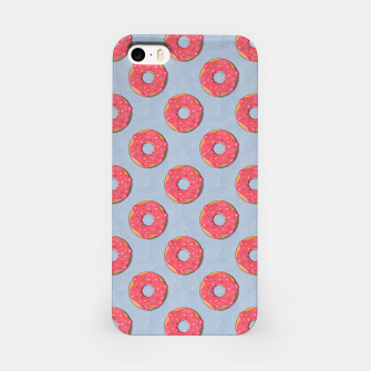 Thumbnail image of FAST FOOD / Donut - pattern iPhone Case, Live Heroes