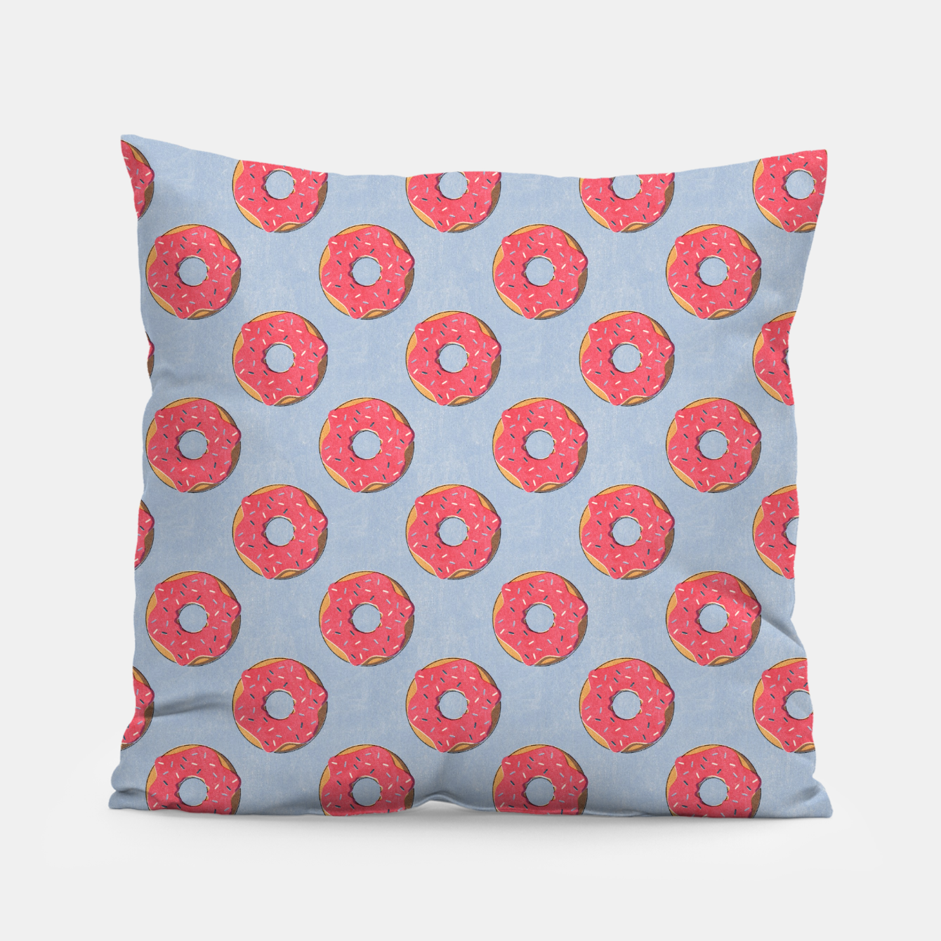 Image of FAST FOOD / Donut - pattern Pillow - Live Heroes