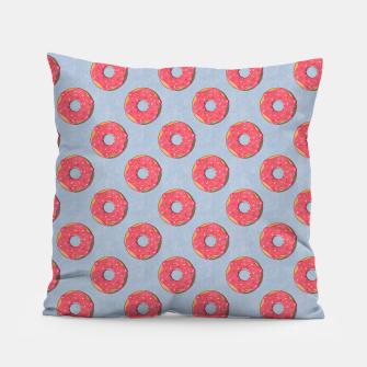 Thumbnail image of FAST FOOD / Donut - pattern Pillow, Live Heroes