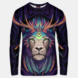 Thumbnail image of Deer Lion Unisex sweater, Live Heroes