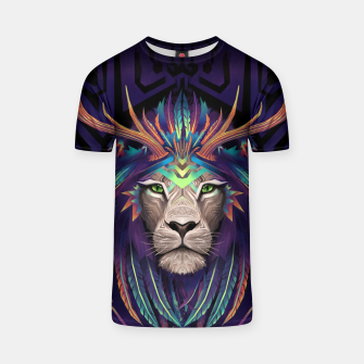 Thumbnail image of Deer Lion T-shirt, Live Heroes