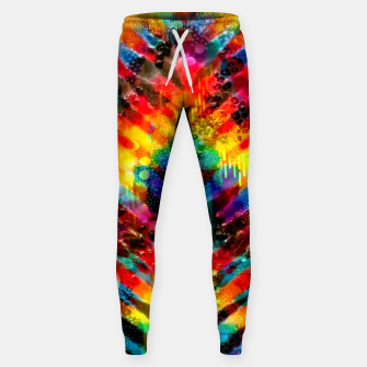 Thumbnail image of Astral Rainbow Tie Dye Sweatpants, Live Heroes