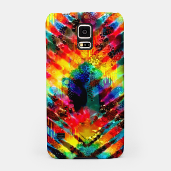 Thumbnail image of Astral Rainbow Tie Dye Samsung Case, Live Heroes