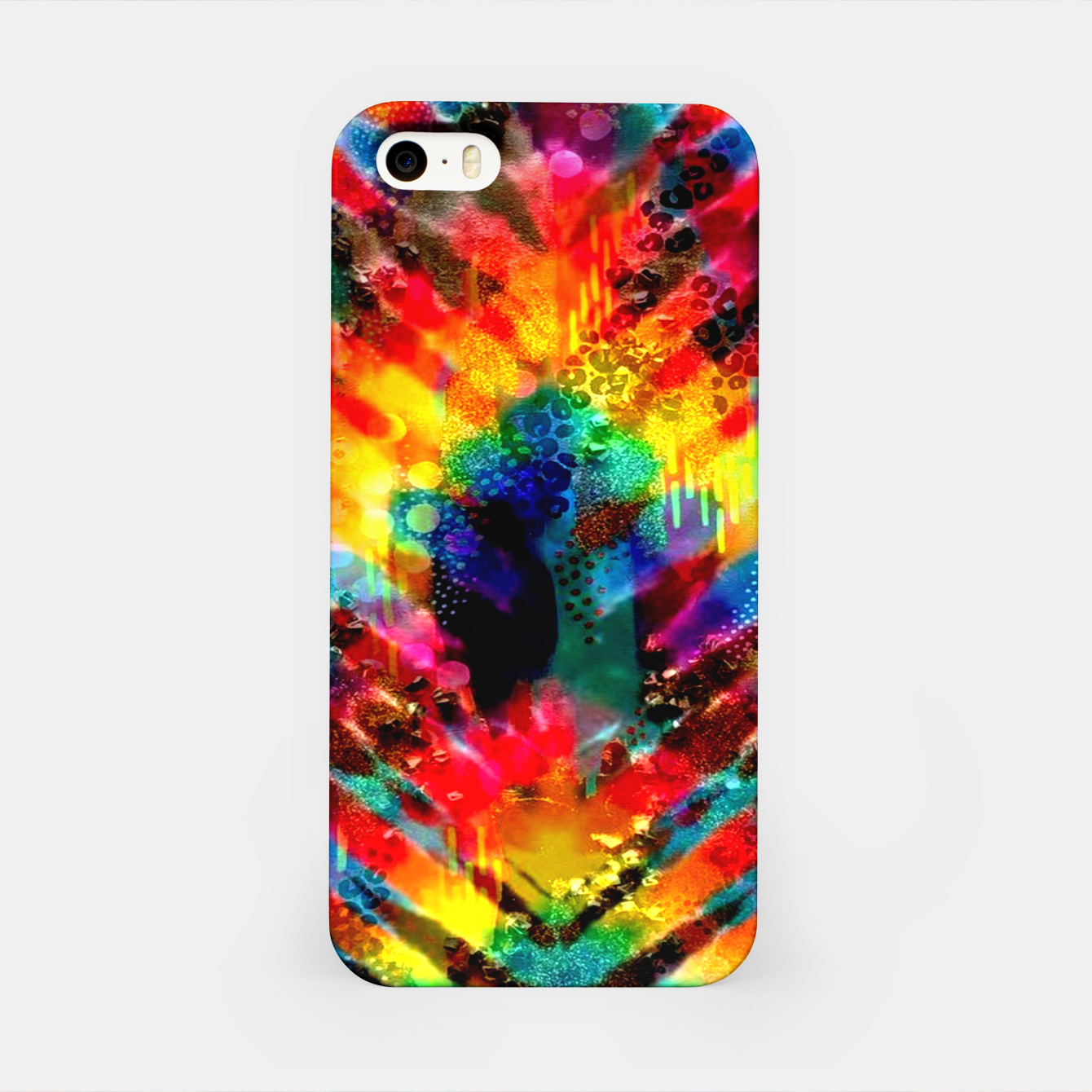 Foto Astral Rainbow Tie Dye iPhone Case - Live Heroes