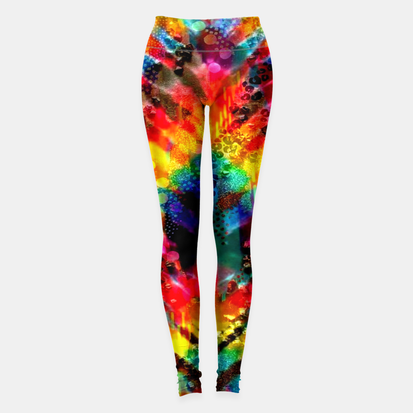 Foto Astral Rainbow Tie Dye Leggings - Live Heroes
