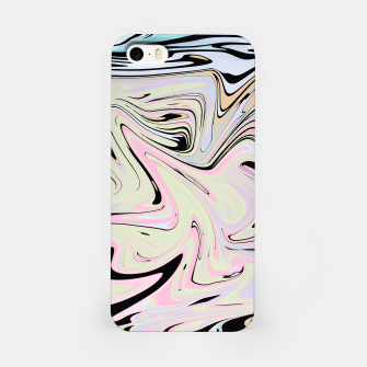 Miniatur Marble Colorful Pattern  iPhone Case, Live Heroes