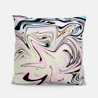 Miniatur Marble Colorful Pattern  Pillow, Live Heroes