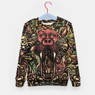Thumbnail image of Creatures Kid's sweater, Live Heroes