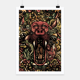 Thumbnail image of Creatures Poster, Live Heroes
