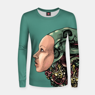 Thumbnail image of Skull Hat Women sweater, Live Heroes