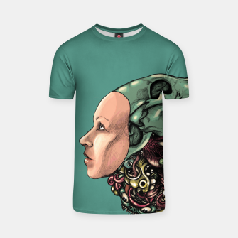Thumbnail image of Skull Hat T-shirt, Live Heroes