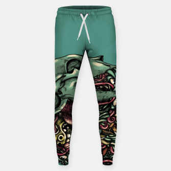 Thumbnail image of Skull Hat Sweatpants, Live Heroes