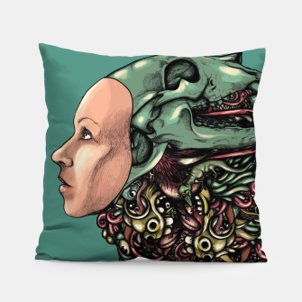 Thumbnail image of Skull Hat Pillow, Live Heroes