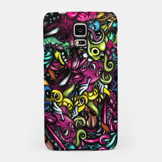Thumbnail image of Doodle Pattern Strong Samsung Case, Live Heroes