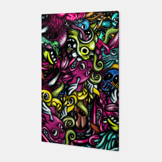 Thumbnail image of Doodle Pattern Strong Canvas, Live Heroes