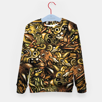 Miniatur Doodle Pattern  Kid's sweater, Live Heroes