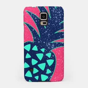 Thumbnail image of Vibrant Tropical Pineapple Design Samsung Case, Live Heroes
