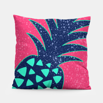 Thumbnail image of Vibrant Tropical Pineapple Design Pillow, Live Heroes