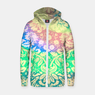 Thumbnail image of Hippie Fabric  Zip up hoodie, Live Heroes
