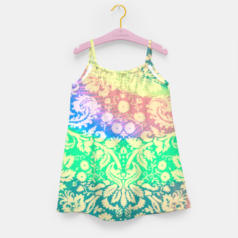 Thumbnail image of Hippie Fabric  Girl's dress, Live Heroes