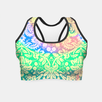 Thumbnail image of Hippie Fabric  Crop Top, Live Heroes