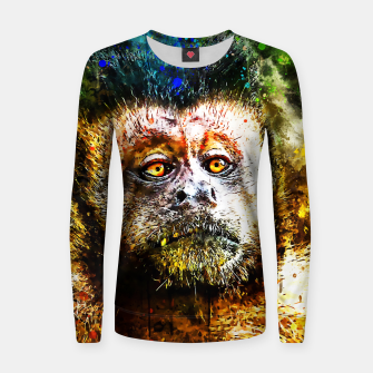 bored monkey wsstd Women sweater thumbnail image